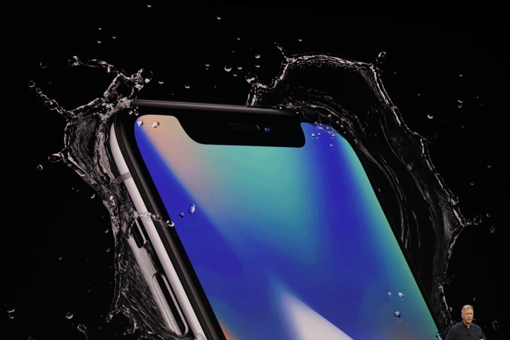 Apple announces full touchscreen iPhone X with Face ID and
