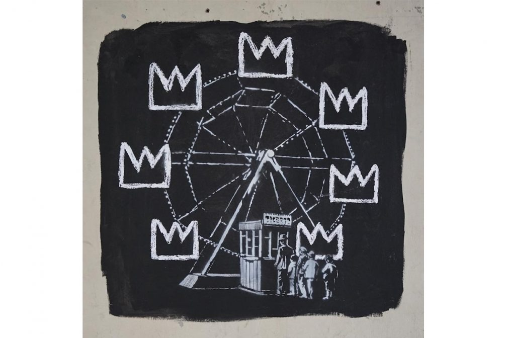 Banksy Rinde homenaje a basquiat 2