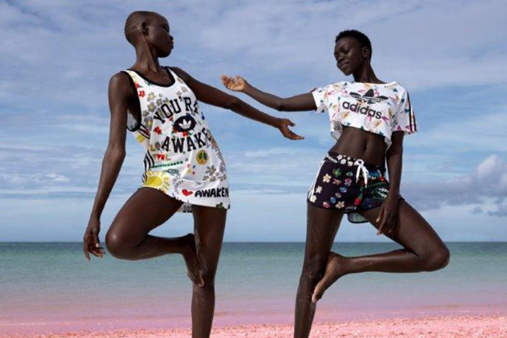 check out c2490 444e0 Adidas Originals Presents Pink Beach by Pharrell Williams