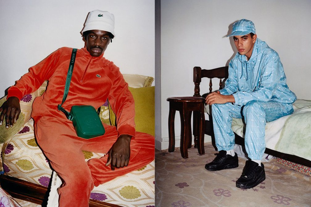 2e32601b6 Supreme and Lacoste return with another '90s inspired collaboration ...
