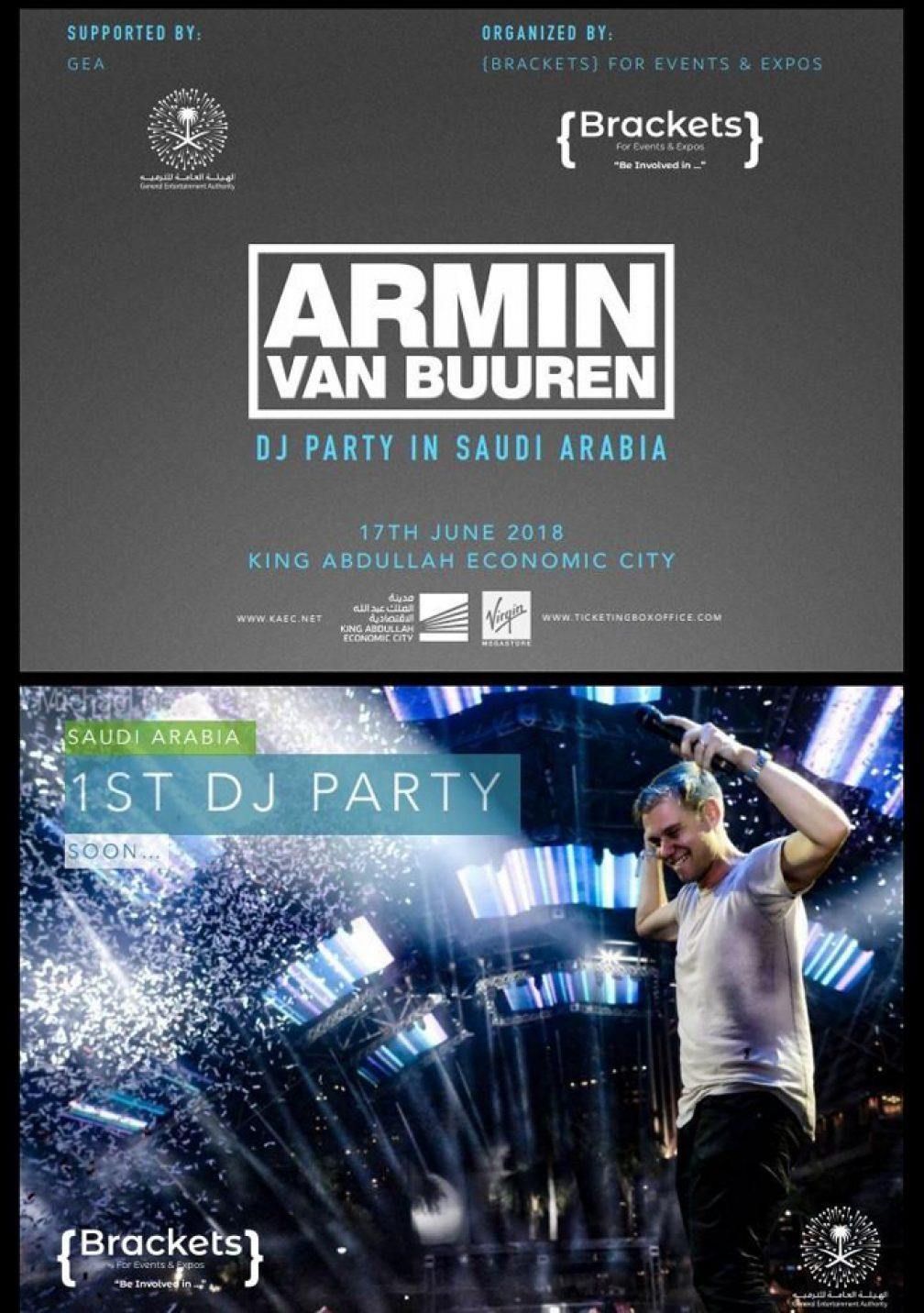Armin van Buuren is playing the first ever