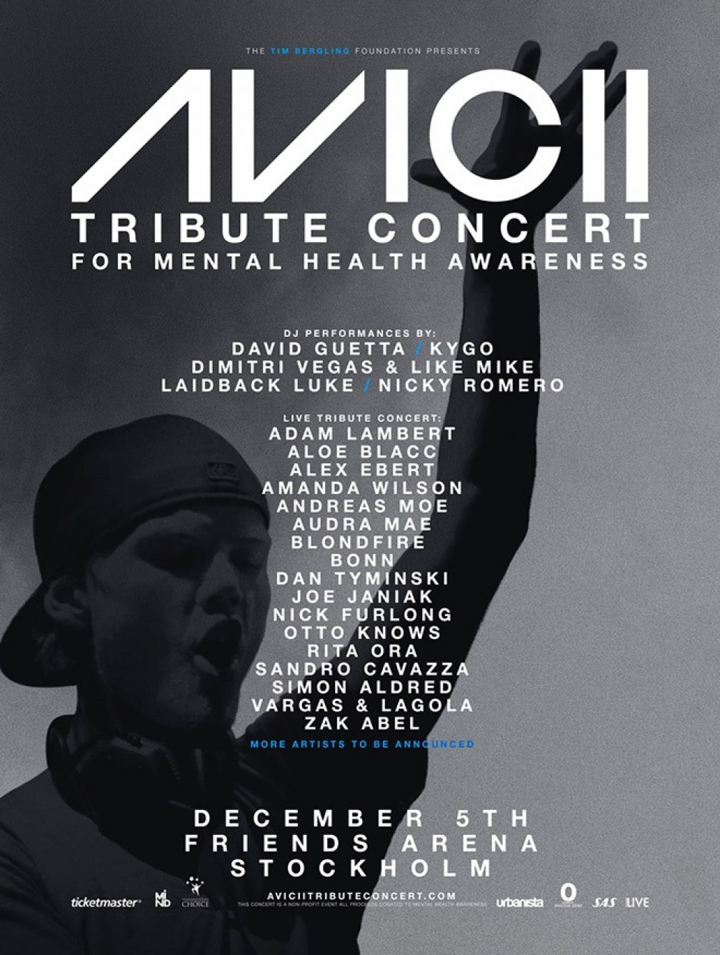 Tribute concert to be held in honour of Avicii in Stockholm