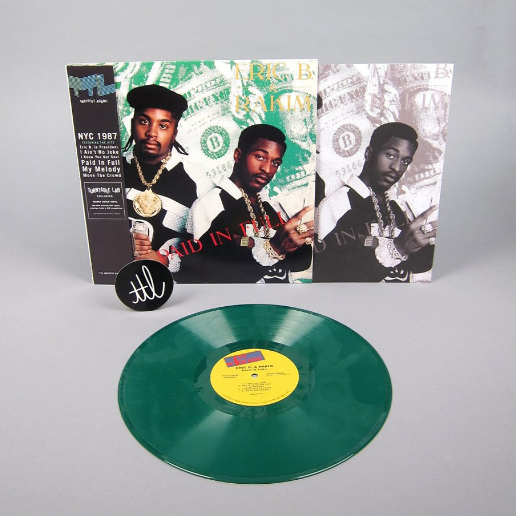 Eric B Amp Rakim S Paid In Full Is Being Reissued On