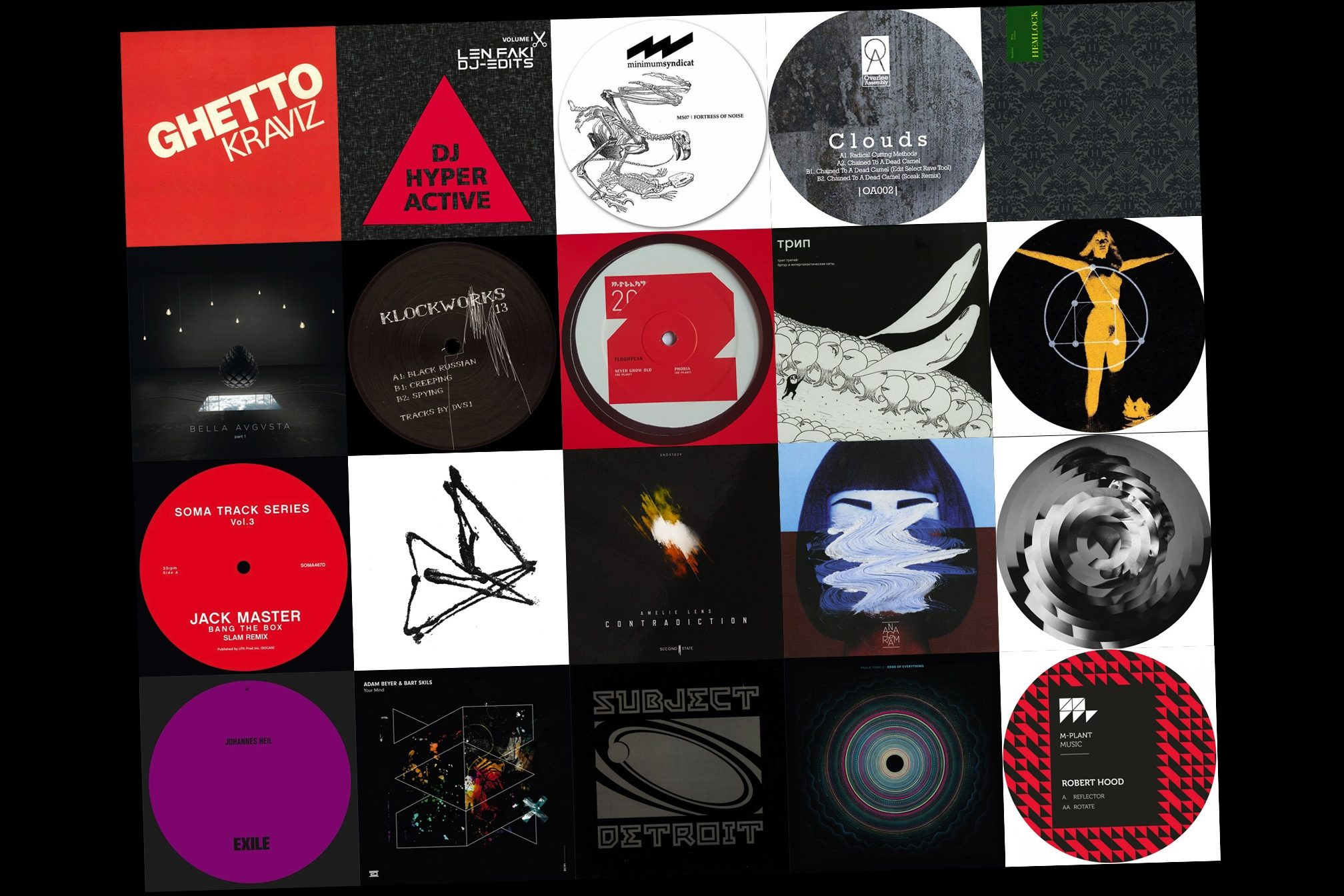 20 of the best techno tracks released this decade - Lists