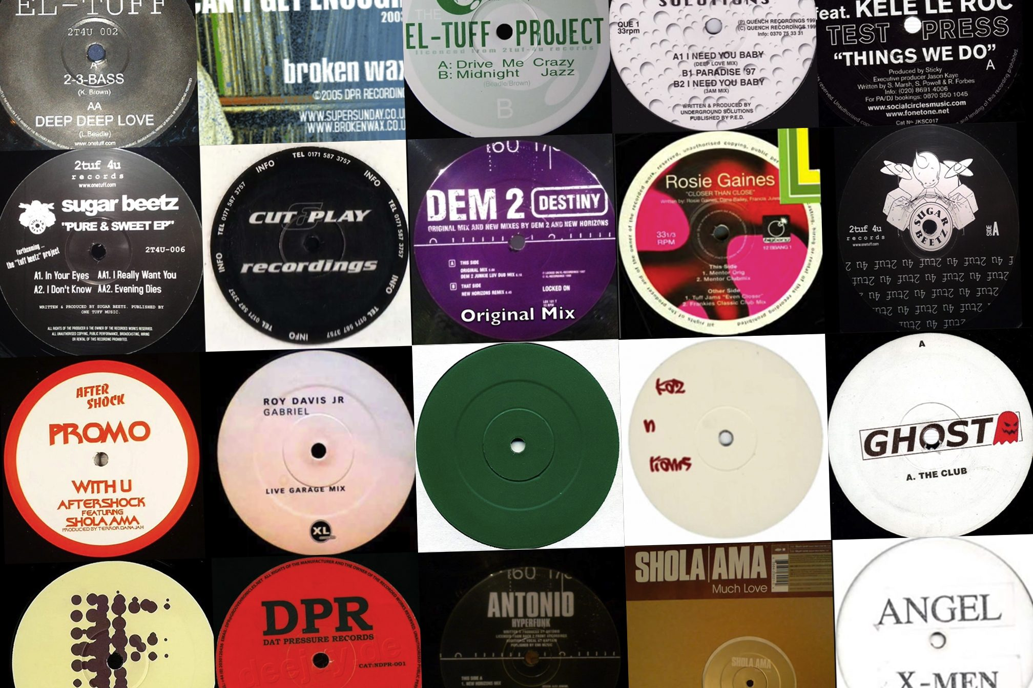 40 of the best UK garage tracks released from 1995 to 2005