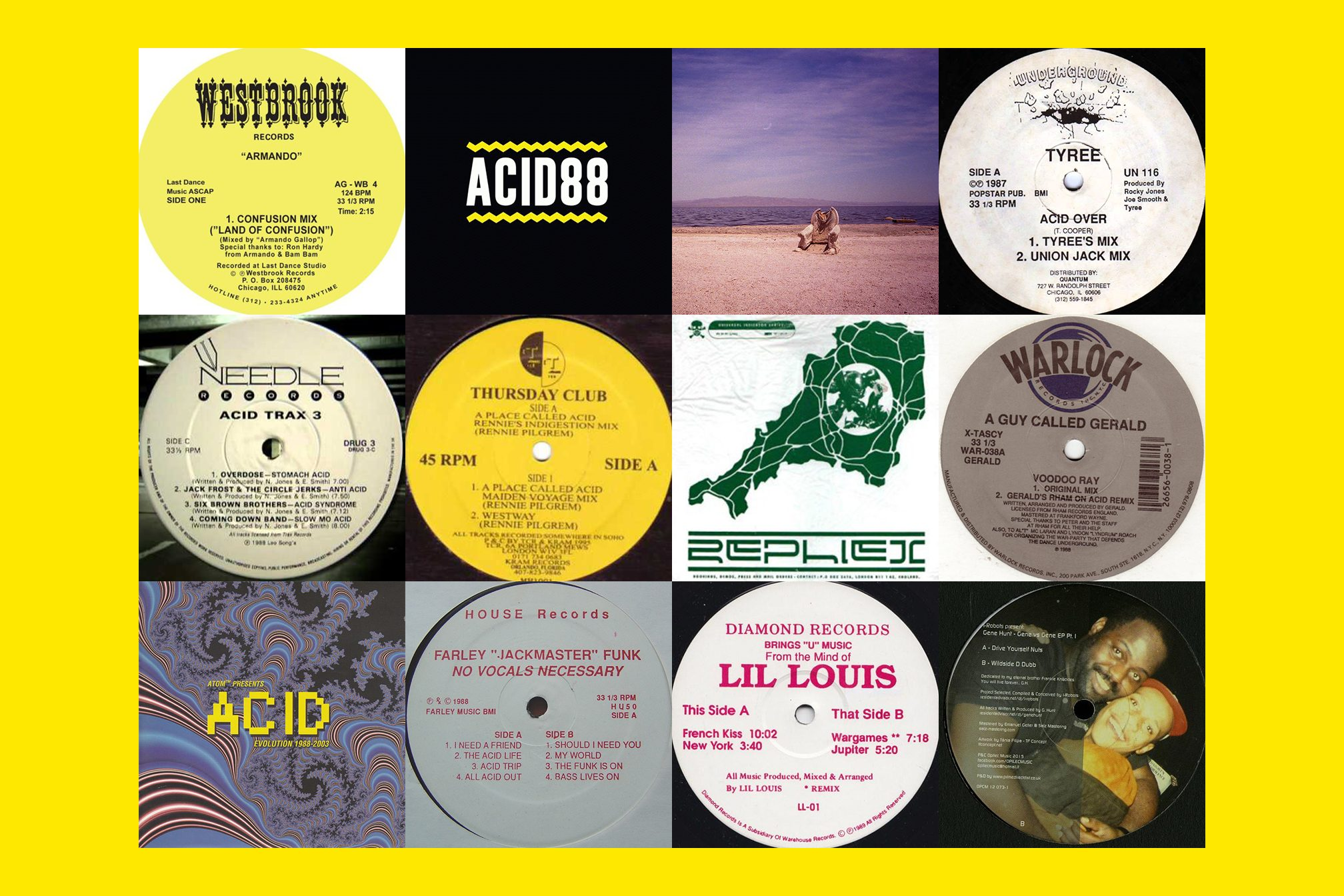 14 DJs tell us their favourite acid house record - Lists - Mixmag