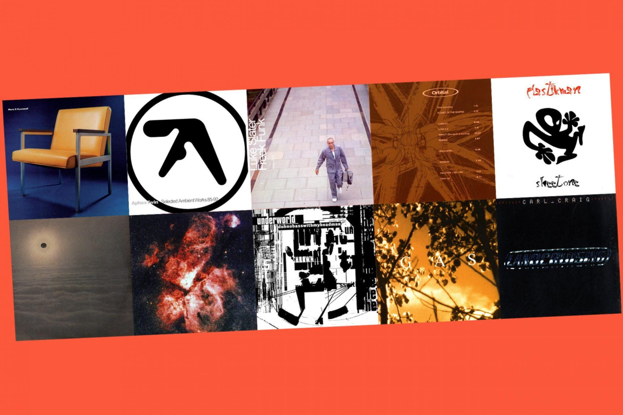 The 10 best 90s techno albums - Lists - Mixmag