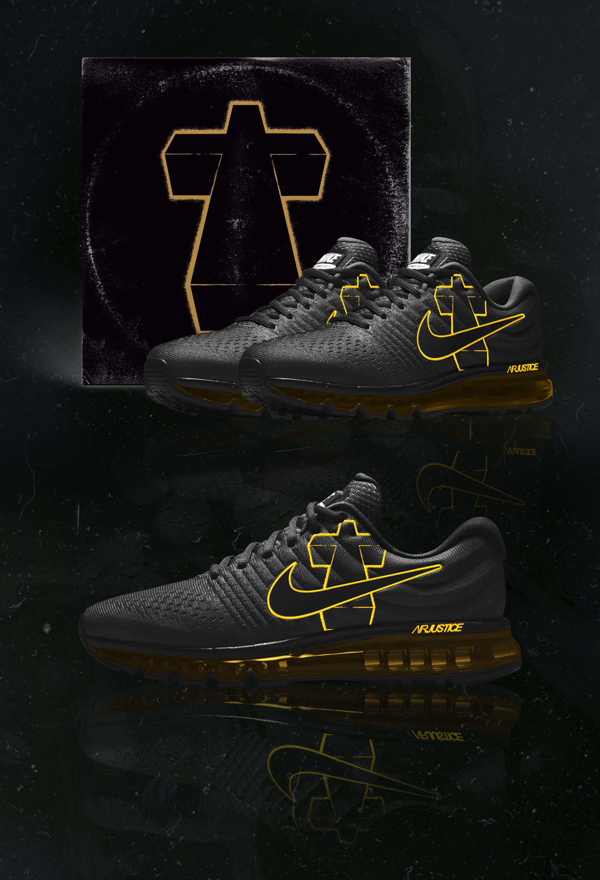 We turned your favourite album covers into Nike sneakers