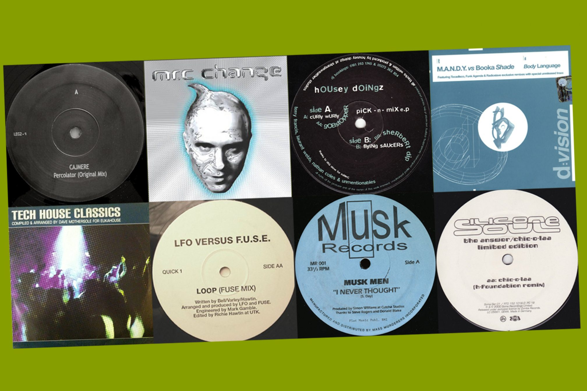 The 10 best pre-2005 tracks that invented tech-house - Lists
