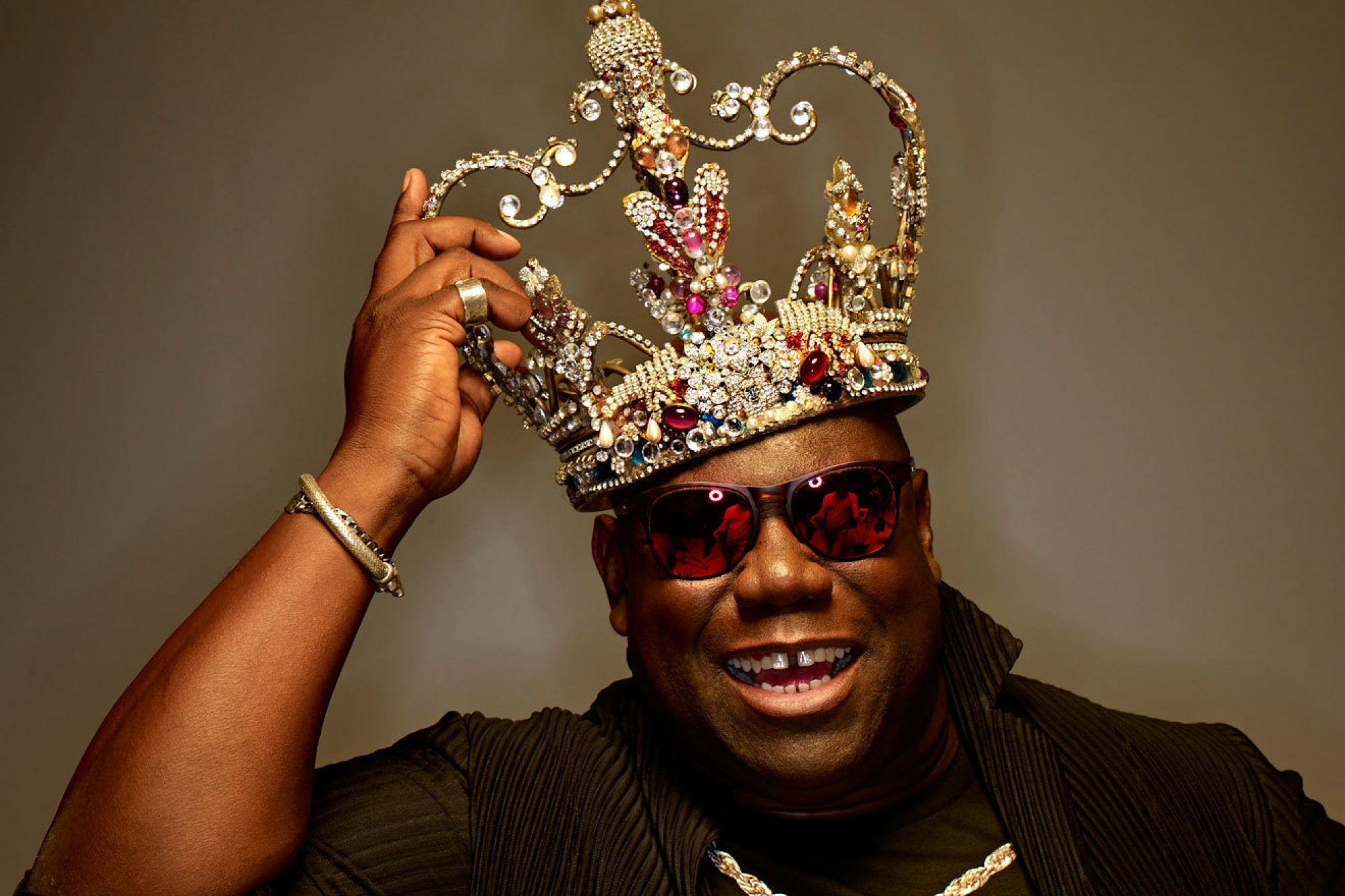 Oh Yes, Oh Yes! Carl Cox To Release New Drum 'n' Bass Mix