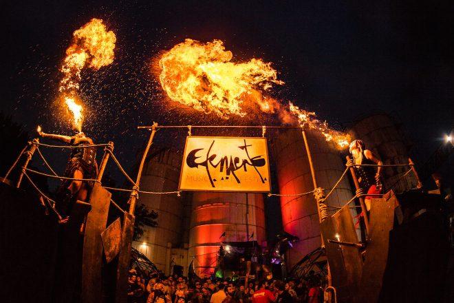 15 photos that show the dystopian DIY magic of Elements Festival