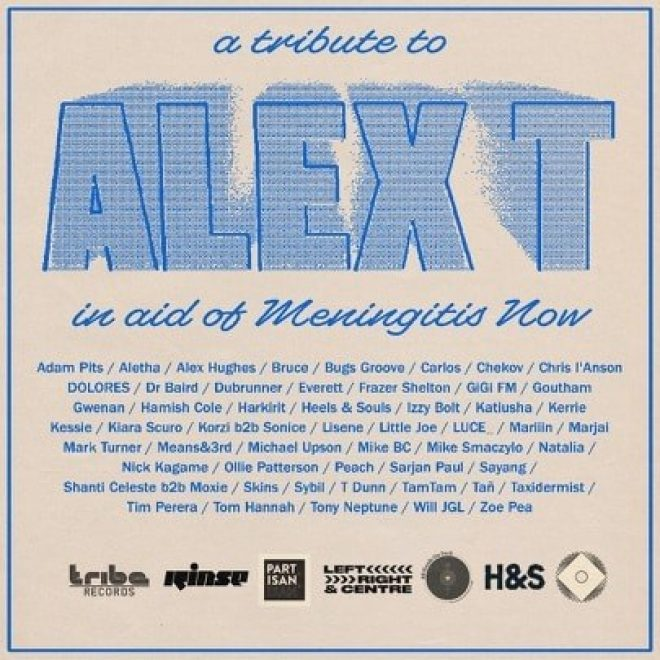 A series of stacked DJ streams paying tribute to Alex T are taking place this week