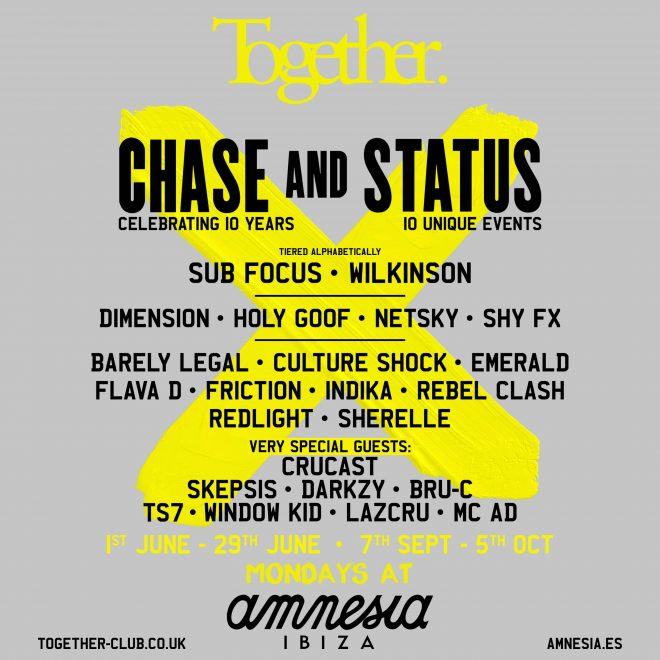 Together Ibiza announces 2020 line-up for Amnesia