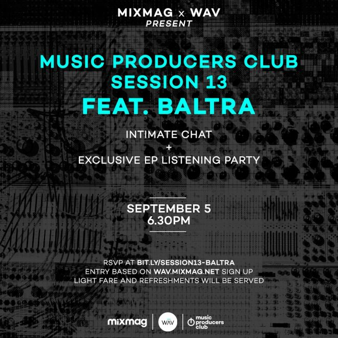 Baltra gets tapped for an exclusive fireside chat and listening party