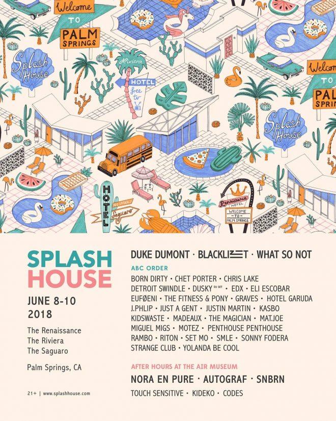 Splash House returns with Dusky, Duke Dumont, J.Phlip and more
