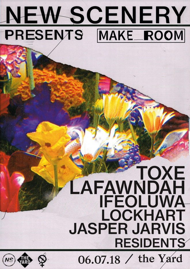 London's New Scenery confirms Toxe, Lafawndah and more for next charitable club night