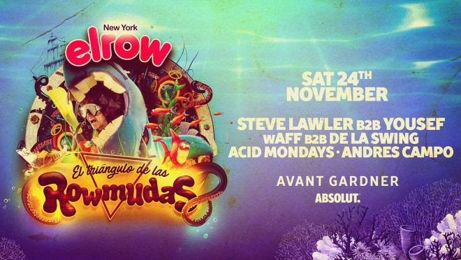 elrow unveils lineup for final installment of its NYC party residency in 2018