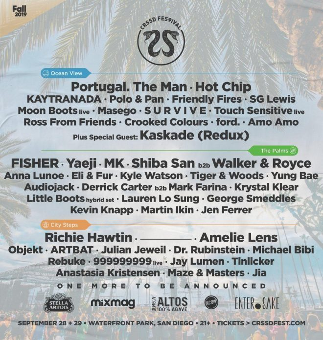 """CRSSD Festival wants to put a stop to """"fan slapping"""""""
