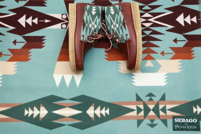 Sebago and Pendleton have made a Native American-inspired capsule collection