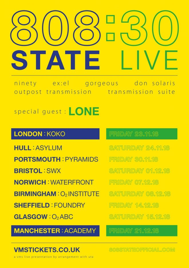 ​808 State remix Lone's 'Temples' ahead of their 30-year anniversary tour