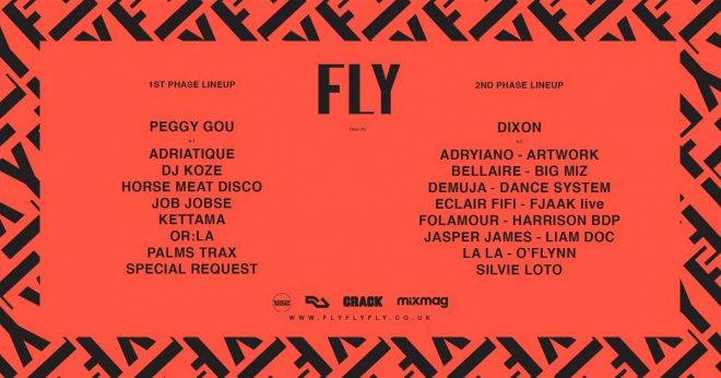 FLY Open Air locks in Dixon, Peggy Gou and DJ Koze for 2020
