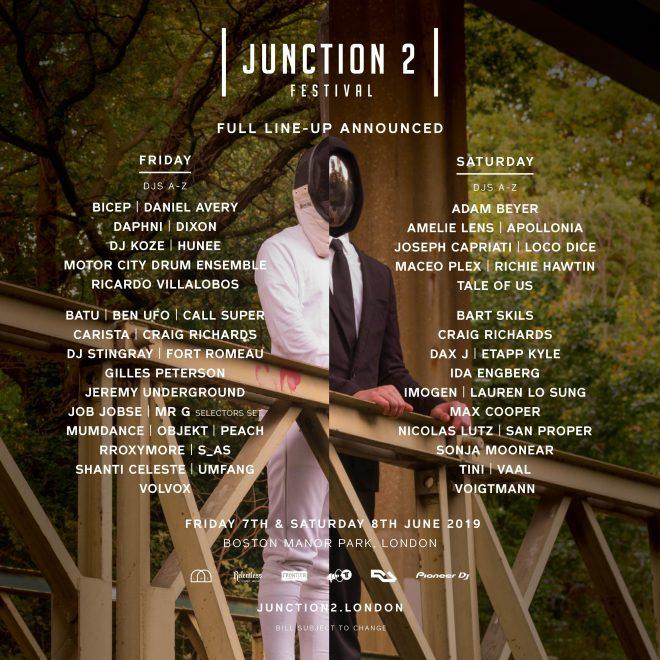 Junction 2 Festival's line-up just got bigger and better