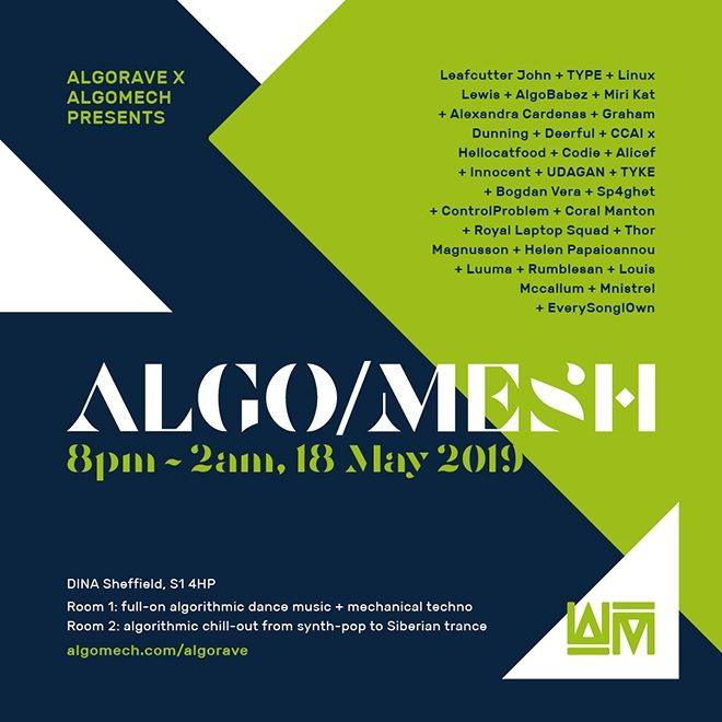 Rian Treanor and Mark Fell to play at Algomech Festival's closing party