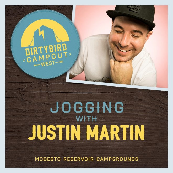Make tie-dye with Mikey Lion and jog with Justin Martin at Dirtybird Campout