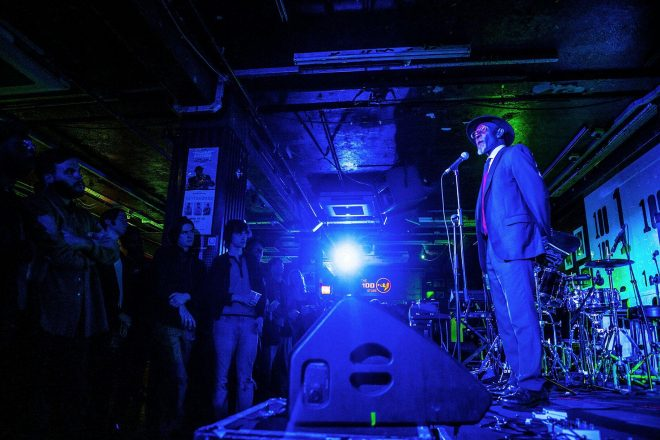 Nicholas Daley and Fred Perry launch collaboration at The 100 Club