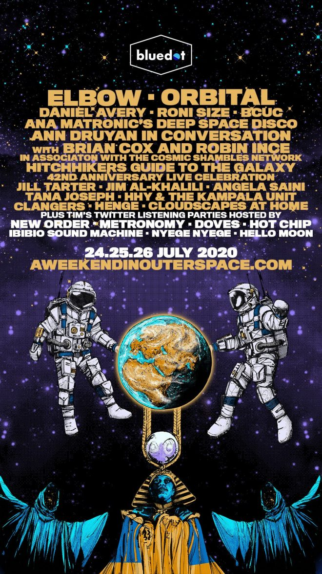 Orbital, Roni Size, Daniel Avery and more play Bluedot's 'A Weekend In Outer Space'