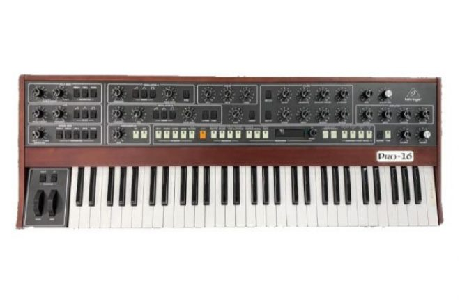 Behringer announces new synth based on Sequential's Prophet-5 design