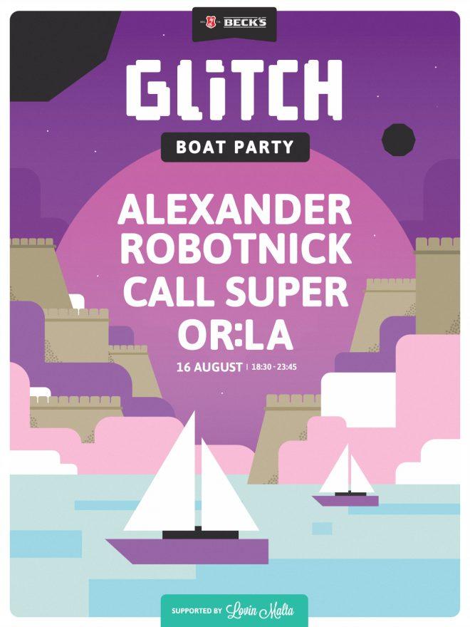 Glitch Festival locks in Call Super and Or:la for closing boat party