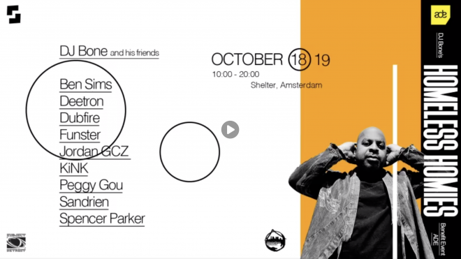 DJ Bone is hosting a massive charity fundraiser at ADE