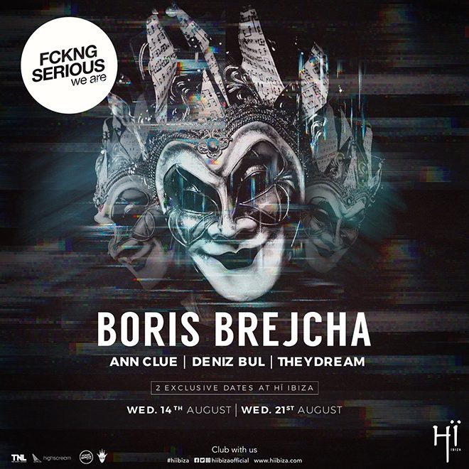 Boris Brejcha to play two Wednesday night shows at Hï Ibiza this summer