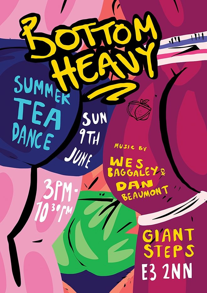 Bottom Heavy returns for one-off party at Giant Steps