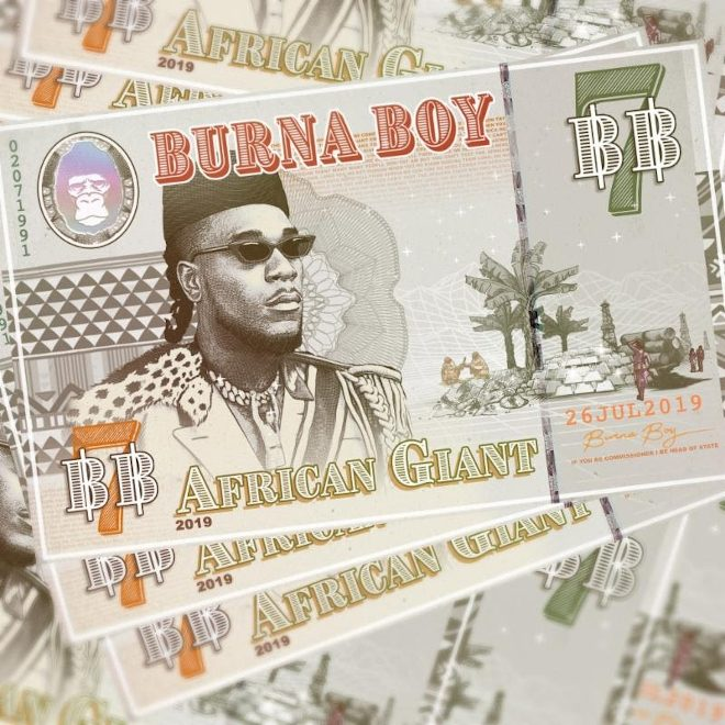 Burna Boy teases new album, 'African Giant'