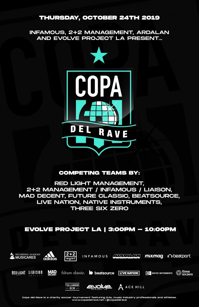 Copa del Rave returns for its second charity tournament in LA