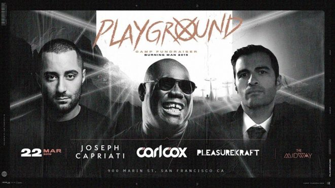 ​Carl Cox drops line-up for his Burning Man fundraiser