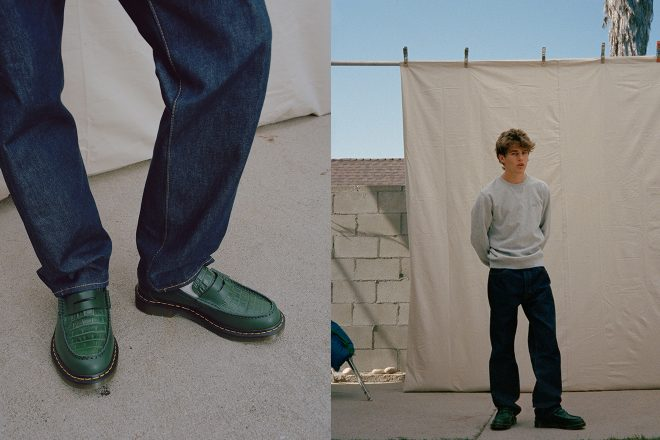 Dr. Martens and Stussy re-invent the Penton Loafer