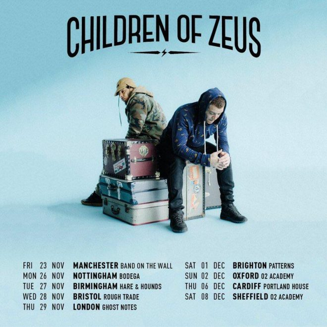 Manchester duo Children of Zeus are heading on tour