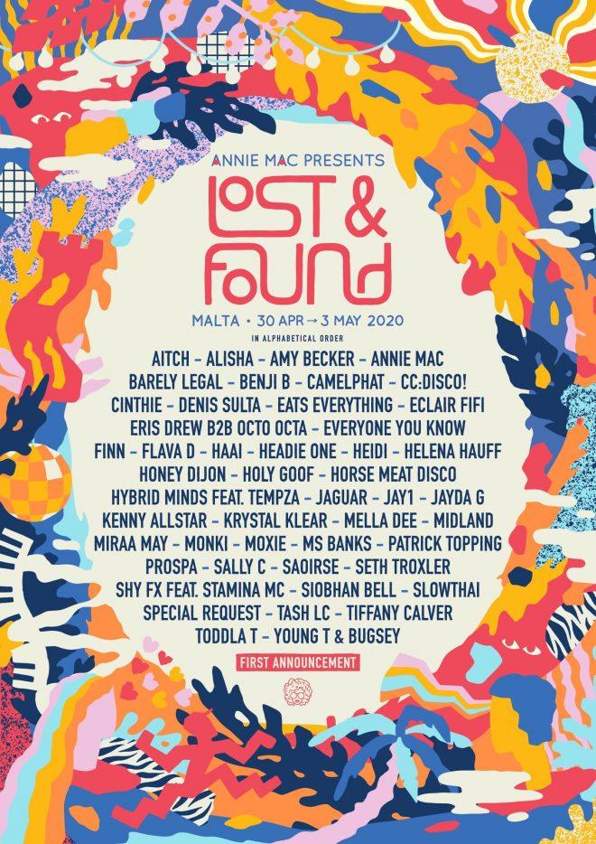 Annie Mac's Lost & Found returns in 2020 with Denis Sulta and Helena Hauff