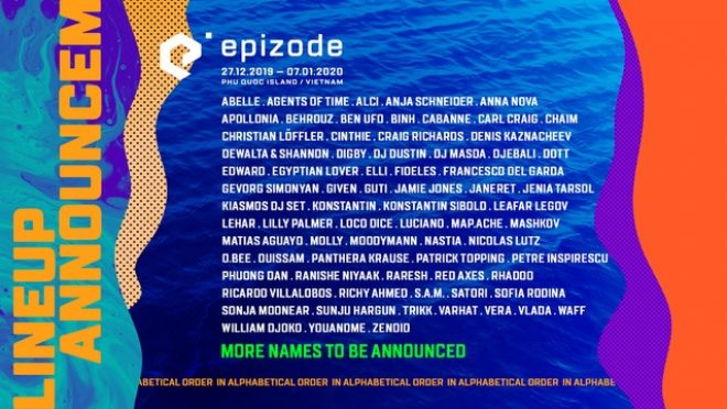 Epizode Festival locks in Moodymann, Nastia and Ben UFO