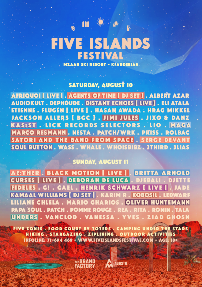 Five Islands - the first electronic music festival in the Middle East