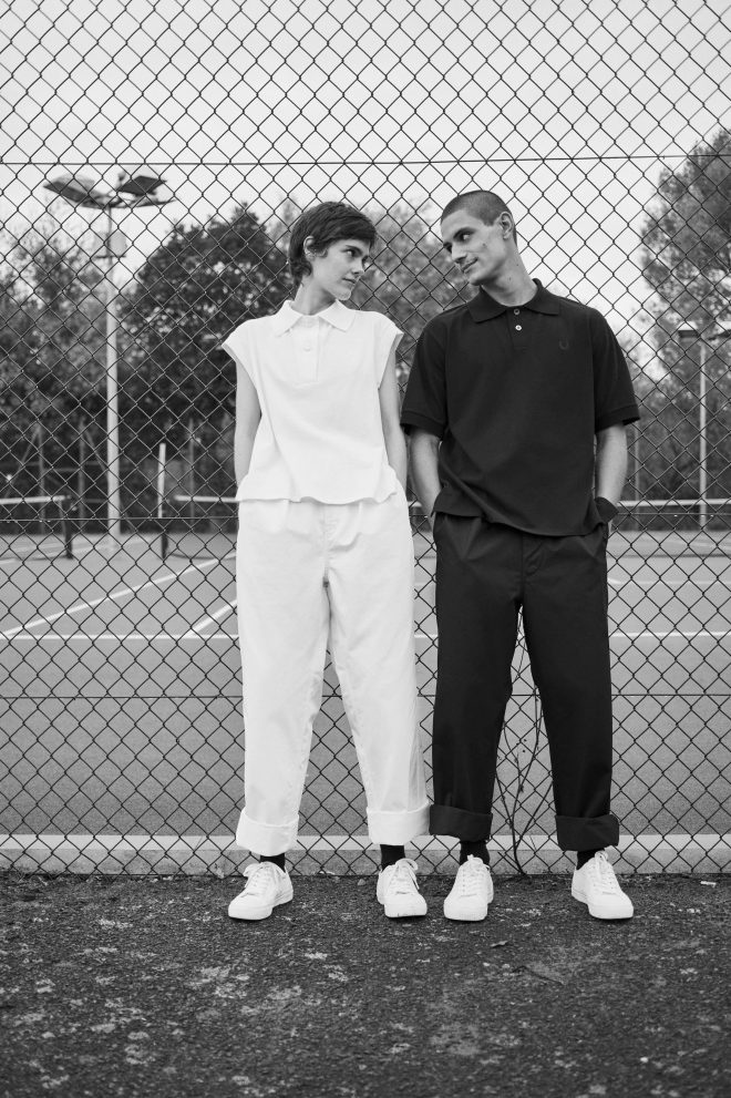 Fred Perry and Margaret Howell release tennis-inspired collection