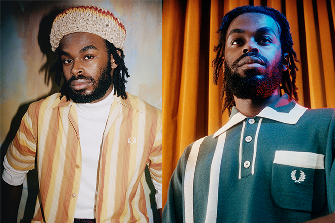 Nicholas Daley x Fred Perry collaboration inspired by Jamaican culture and classic 70s style
