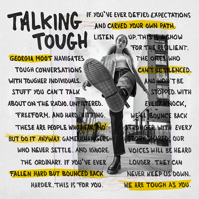 Dr. Martens launches the 'Talking Tough' podcast to champion resilient individuals