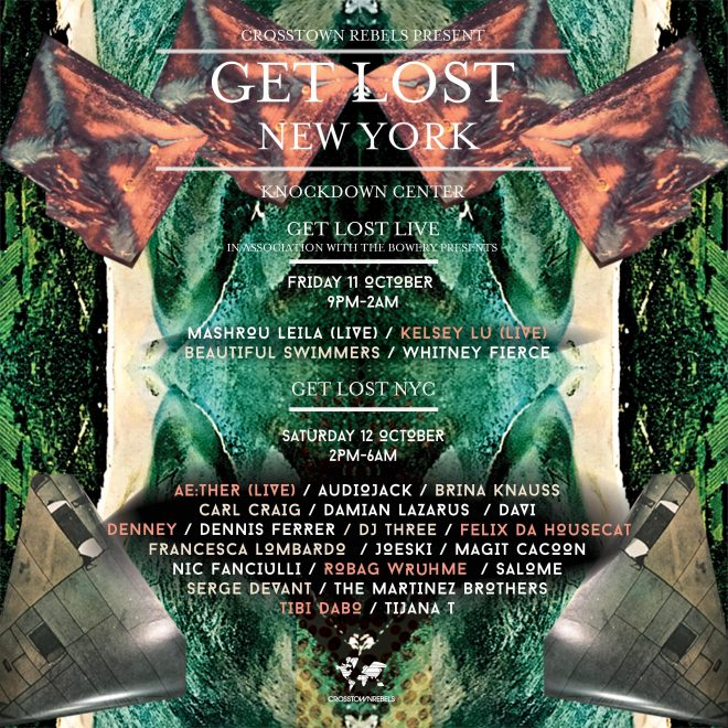 ​Damian Lazarus brings Get Lost to NYC for the first time