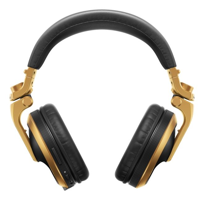 Pioneer introduces new gold-coloured HDJ-X5BT-N headphones