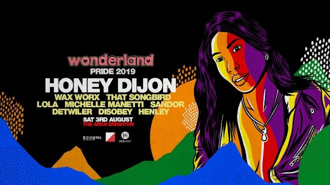 Honey Dijon takes to Brighton next month for Pride party