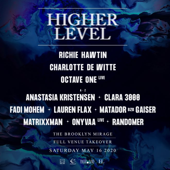 Richie Hawtin has curated a huge party at Brooklyn Mirage